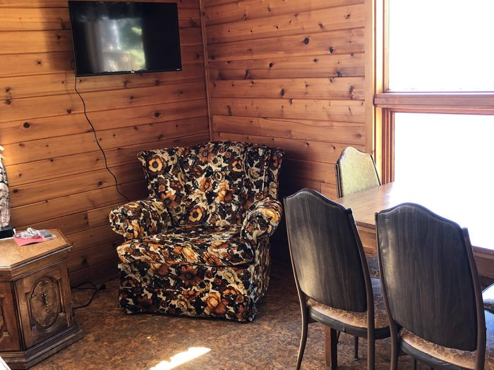 Cabin 3 Sitting Area