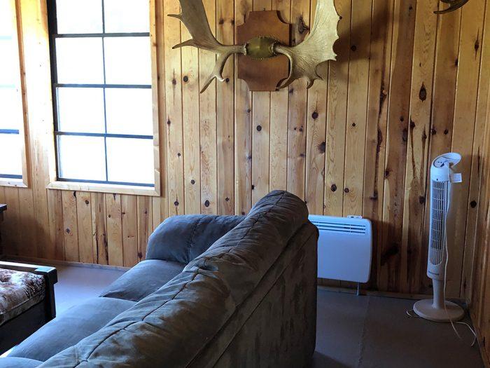 Cabin 5 Moose Antlers