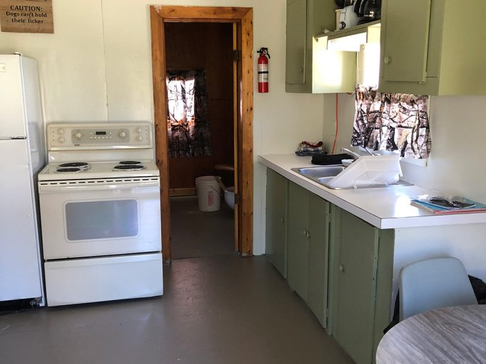 Cabin 7 Entry Into Kitchen