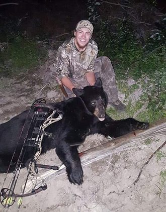 Guest After Successful Black Bear Bow Hunt Aspect Ratio 330 422