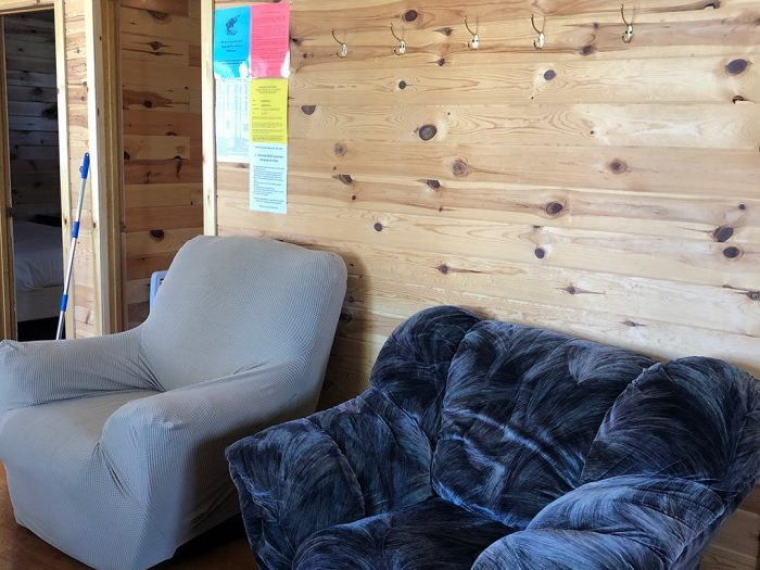 Cabin 2 Living Area