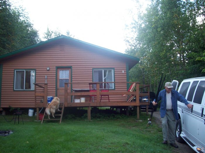 Cabin 8 Exterior